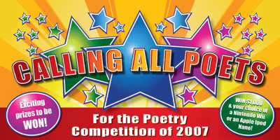 Calling All Poets 2007