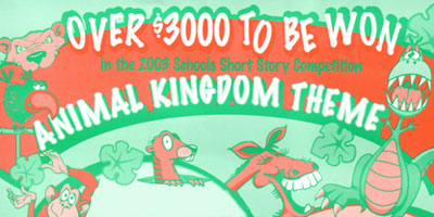 2003 Schools Short Story Competition - Animal Kingdom Theme