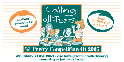Calling All Poets - Poetry Competition of 2005