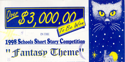 1998 Schools Short Story Competition - Fantasy Theme
