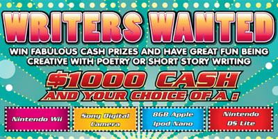 Writers Wanted - July 2010 Word Express