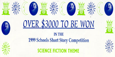 1999 Schools Short Story Competition - Science Fiction Theme