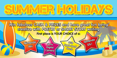 Summer Holidays Online Writing Competition - POP