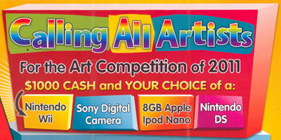 Art Competition 2011 - Art Book