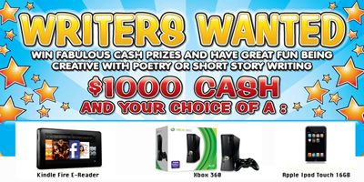 Writers Wanted 2013 - Written in the Stars