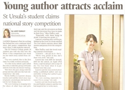Young Author Attracts Acclaim