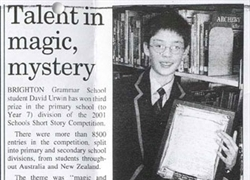 Talent In Magic Mystery