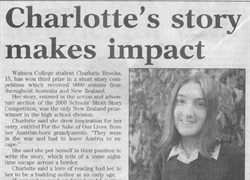 Charlotte's Story Makes Impact
