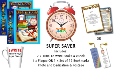 Super Saver Deal with BOOKMARKS