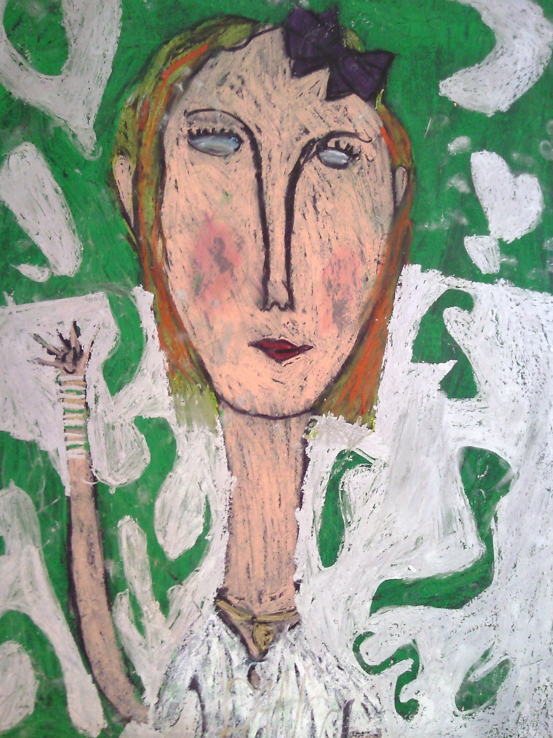 Holly In Modigliani Style