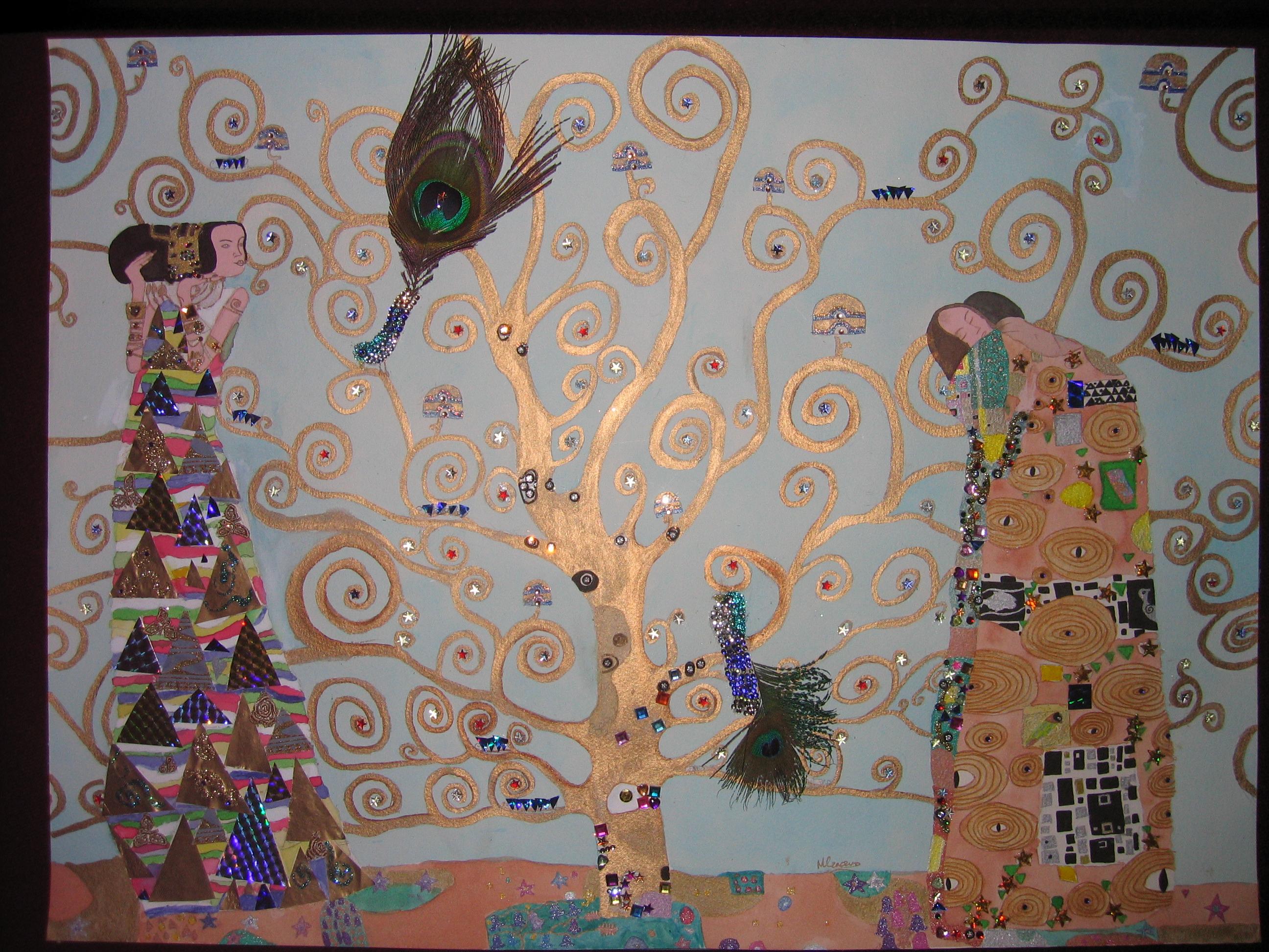 my own of u0027the tree of lifeu0027 by gustav klimt