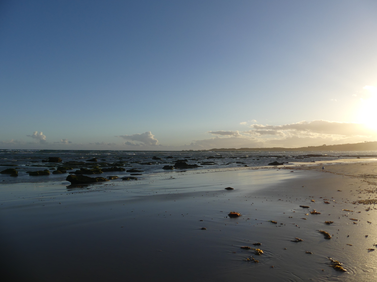 Sunset At Anglesea Beach
