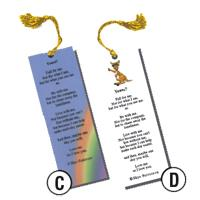 Write As Rain Bookmarks (Set of 12)