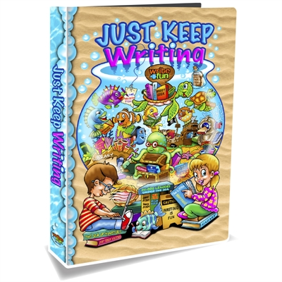 Just Keep Writing - Book